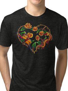 Rodimus & Roses Tri-blend T-Shirt