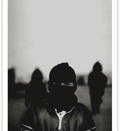 Underground Assassin Balaclava  Sticker