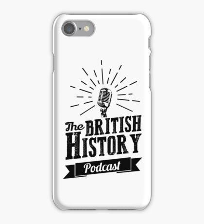 The British History Podcast Retro style iPhone Case/Skin
