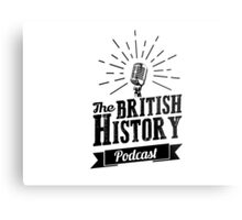 The British History Podcast Retro style Metal Print