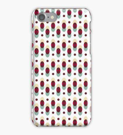 Geometric retro patterns iPhone Case/Skin