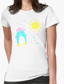 Penny Penguin! Womens Fitted T-Shirt