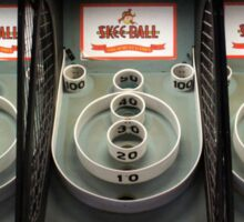 Skee Ball Sticker