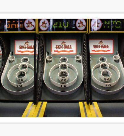 Skee Ball Sticker