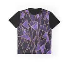 Shattered Amethyst Graphic T-Shirt
