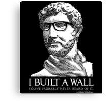 Hipster Hadrian Canvas Print