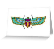 Egyptian Scarabs Greeting Card
