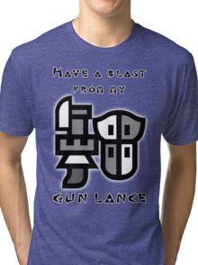 Monster Hunter Gunlance Tri-blend T-Shirt