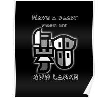 Monster Hunter Gunlance Poster
