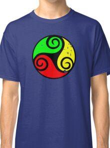 Reggae Flag Chilling Vibes - Cool Reggae Flag Colors Gifts Classic T-Shirt