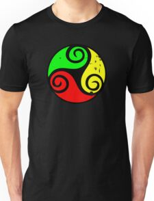 Reggae Flag Chilling Vibes - Cool Reggae Flag Colors Gifts T-Shirt