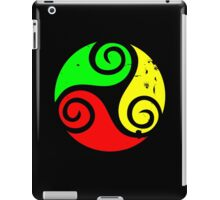 Reggae Flag Chilling Vibes - Cool Reggae Flag Colors Gifts iPad Case/Skin