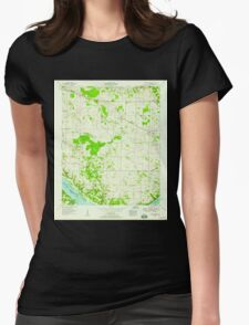 USGS TOPO Map Alabama AL Sinking Creek 305050 1954 24000 T-Shirt