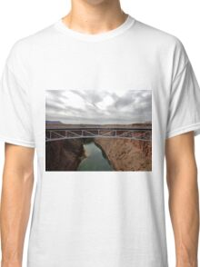 Navajo Bridge over Little CO River 03 Classic T-Shirt