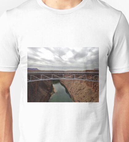 Navajo Bridge over Little CO River 03 Unisex T-Shirt