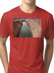 Navajo Bridge over Little CO River 04 Tri-blend T-Shirt