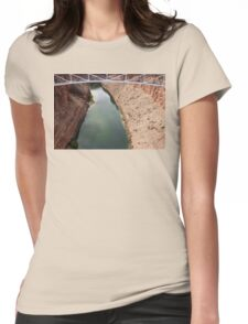 Navajo Bridge over Little CO River 04 Womens Fitted T-Shirt