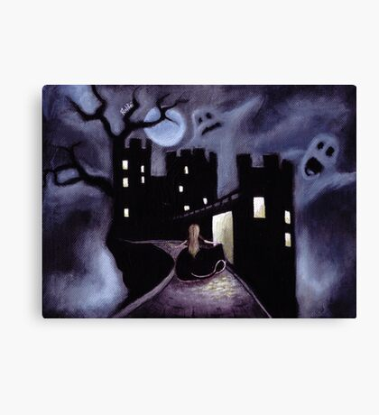 Once Upon a Haunted Fairy Tale Canvas Print
