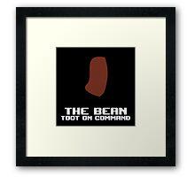 The Bean Framed Print