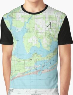 USGS TOPO Map Alabama AL Orange Beach 304756 1980 24000 Graphic T-Shirt