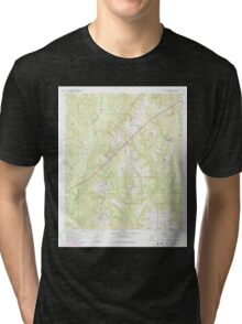 USGS TOPO Map Alabama AL Barnett Crossroads 303177 1960 24000 Tri-blend T-Shirt