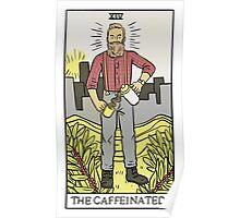 Modern Tarot - The Caffeinated Poster