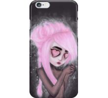 eyes and heart all empty iPhone Case/Skin