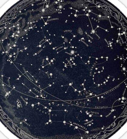 Blue Star Astrology Sticker