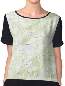 USGS TOPO Map Alabama AL Altoona 20111012 TM Women's Chiffon Top