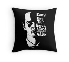Good old fashioned villian Throw Pillow