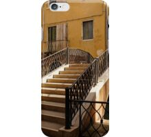 Venice, Italy - Intricate Wrought Iron Bridge iPhone Case/Skin