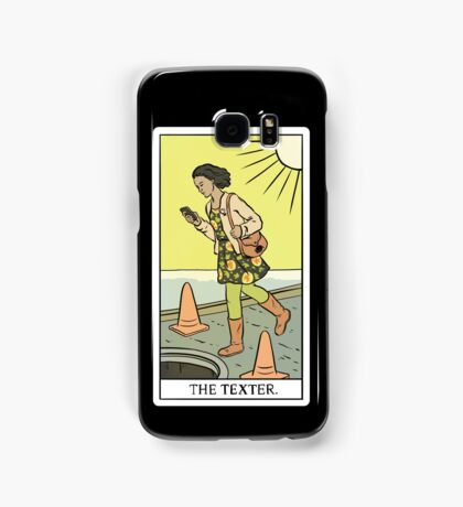 Modern Tarot - The Texter Samsung Galaxy Case/Skin