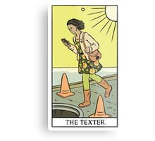 Modern Tarot - The Texter Metal Print