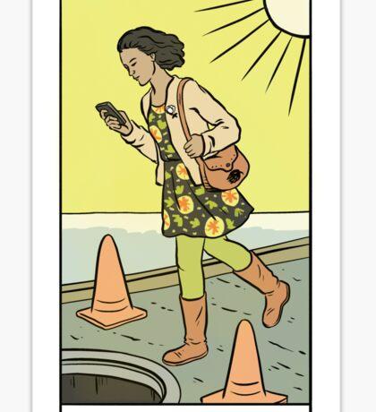 Modern Tarot - The Texter Sticker