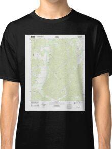USGS TOPO Map Alabama AL Bishop 20111013 TM Classic T-Shirt