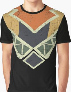 Cool Abstract Enchanting Colors and Shapes Graphic T-Shirt
