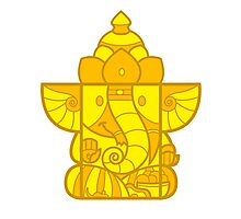 Box Ganesha Photographic Print