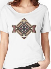 Cool Abstract Enchanting Shapes and Colors Women's Relaxed Fit T-Shirt