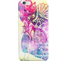 Shake a tail feather - lilac dreams iPhone Case/Skin