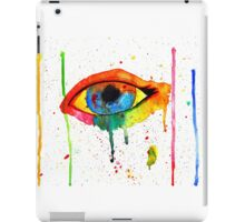 Rainbow Tears iPad Case/Skin