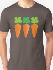 Three carrots orange vegetables T-Shirt