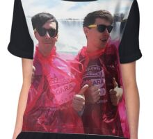 ABOUT TO GET INCREDIBLY MOIST WITH @AMAZINGPHIL Chiffon Top