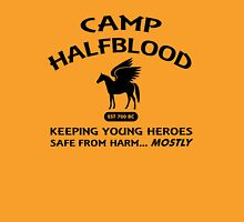 Camp Halfblood in Black Unisex T-Shirt