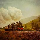 The Jacobite Steam Train by derekbeattie
