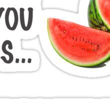 Melons! Sticker