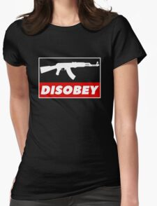 DISOBEY Womens Fitted T-Shirt