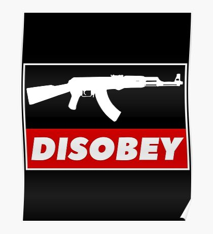 DISOBEY Poster