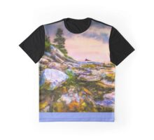 Tall Pine Point Graphic T-Shirt