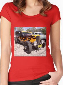 Hot Rod, Catalina Festival, Australia 2015 Women's Fitted Scoop T-Shirt