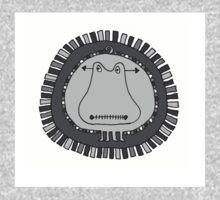 Crazy Hippo  One Piece - Long Sleeve